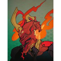 Warframe - Ember (Коллекция постеров №3)   Варфрейм - Эмбер