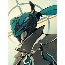 Warframe - Mesa (Коллекция постеров №3)   Варфрейм - Миса