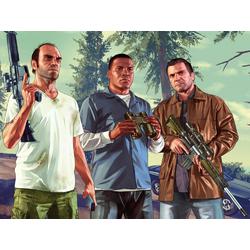 Grand Theft Auto 5 (Коллекция постеров №1) - Майкл, Франклин, Тревор