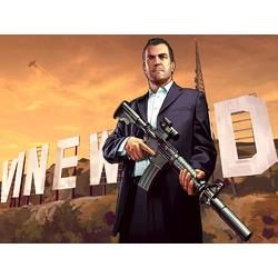 Grand Theft Auto 5 (Коллекция постеров №1) - Майкл