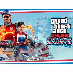 Grand Theft Auto Online (Коллекция постеров №2) - Cunning Stunts