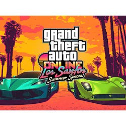 Grand Theft Auto Online (Коллекция постеров №2) - Los Santos Summer Special