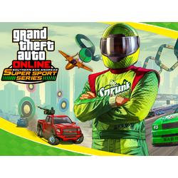 Grand Theft Auto Online (Коллекция постеров №2) - Super Sport Series