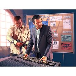 Grand Theft Auto 5 (Коллекция постеров №1) - Майкл, Франклин