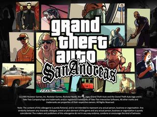 Категория постеров и плакатов Grand Theft Auto San Andreas