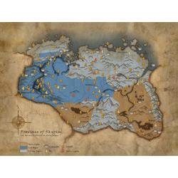 Skyrim | Скайрим - Игровая карта