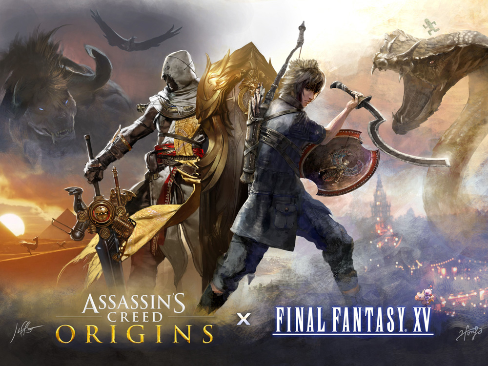 Assassins Creed | Кредо Ассасина - Origins & FF 15