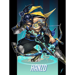 Overwatch: Hanzo | Овервотч