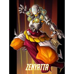 Overwatch: Zenyatta | Овервотч