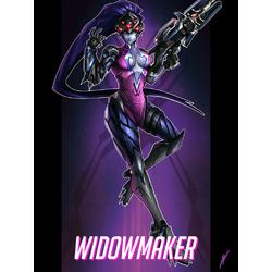 Overwatch: Widowmaker | Овервотч