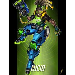 Overwatch: Lucio | Овервотч