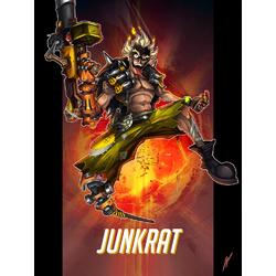 Overwatch: Junkrat | Овервотч