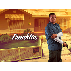 Grand Theft Auto 5 (Коллекция постеров №4) - Franklin