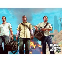Grand Theft Auto 5 (Коллекция постеров №3) - Майкл, Франклин, Тревор