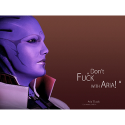 Mass Effect | Aria T'Loak