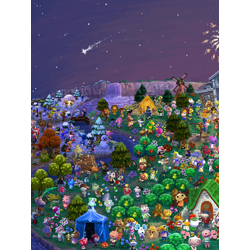 Animal Crossing (Модульные постеры) - 1 | Энимал Кроссинг