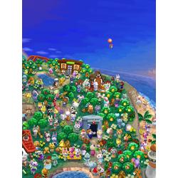 Animal Crossing (Модульные постеры) - 3 | Энимал Кроссинг