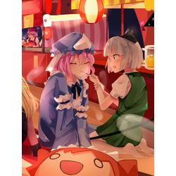 Anime girls (Модульные постеры) - 4 | Аниме девушки