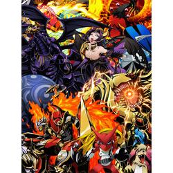 Digimon (Модульные постеры) - 2   Приключения Дигимонов