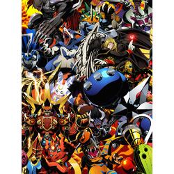 Digimon (Модульные постеры) - 3   Приключения Дигимонов