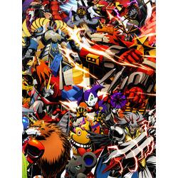 Digimon (Модульные постеры) - 4   Приключения Дигимонов