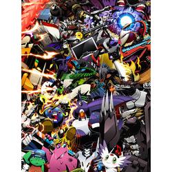 Digimon (Модульные постеры) - 5   Приключения Дигимонов