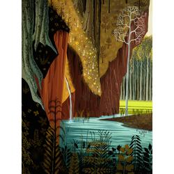 Forest art (Модульные постеры) - 1 | Лес