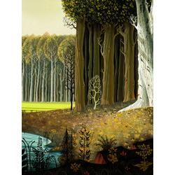 Forest art (Модульные постеры) - 2 | Лес