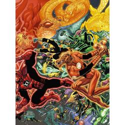 Green Lantern (Модульные постеры) - 1 | Зеленый Фонарь