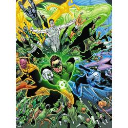 Green Lantern (Модульные постеры) - 2 | Зеленый Фонарь