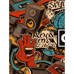 Graffity (Модульные постеры) - 1 | Граффити