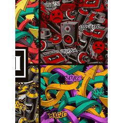 Graffity (Модульные постеры) - 3 | Граффити