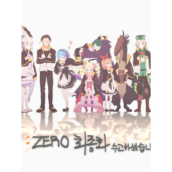 Re-Zero (Модульные постеры) - 2 | Жизнь с нуля в альтернативном мире