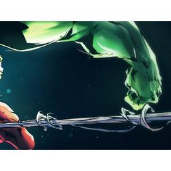 Spider Man & Hulk (Модульные постеры) - 3 | Человек Паук и Халк