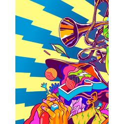 Abstract (Модульные постеры) - 1 | Абстракция