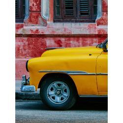 Car: Retro (Модульные постеры) - 1   Винтажный автомобиль