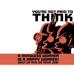 Futurama: You're not Paid to Think | Футурама