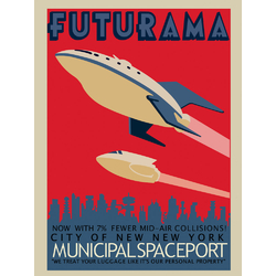 Futurama: Spaceport | Футурама: Космодром