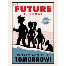 Futurama: Worry about it Tomorrow | Футурама