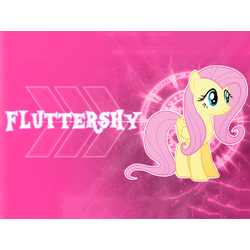 My Little Pony (Коллекция постеров №2) - Fluttershy | Мой маленький пони: Флаттершай