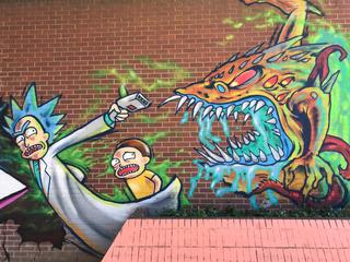 Категория постеров и плакатов Граффити