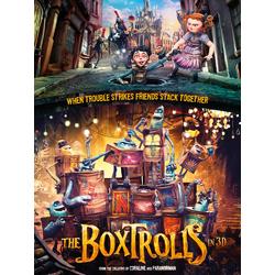 The Boxtrolls | Семейка монстров