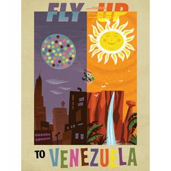 Up - Fly Up To Venezuela (Коллекция постеров №2)   Вверх