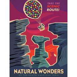 Up - Natural Wonders (Коллекция постеров №2)   Вверх