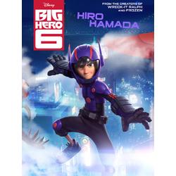 Big Hero 6 (Модульные постеры) - 3. Hiro Hamada  | Город героев