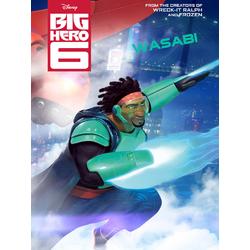 Big Hero 6 (Модульные постеры) - 5. Wasabi | Город героев