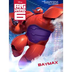 Big Hero 6 (Модульные постеры) - 4. Baymax | Город героев