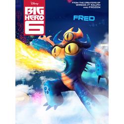 Big Hero 6 (Модульные постеры) - 2. Fred | Город героев