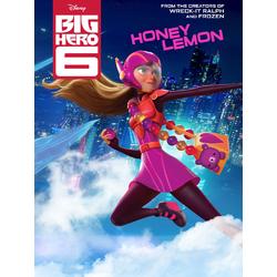 Big Hero 6 (Модульные постеры) - 6. Honey Lemon | Город героев