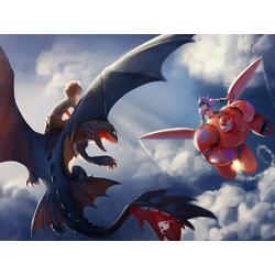 Big Hero 6 | Город героев и Как Приручить Дракона